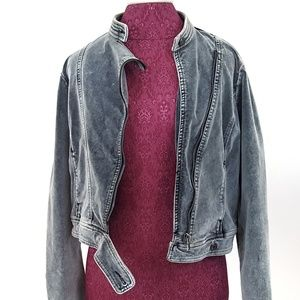 Women's Vintage Guess Jeans Jacket size Large